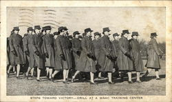 Women's Army Auxiliary Corps - Drill at WAAC Training Center