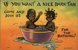 If You Want A Nice Dark Tan Come And Join Us For The Bathing!