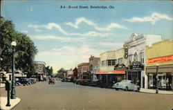 Broad Street in Bainbridge, GA