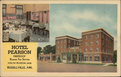 Hotel Pearson Fireproof Known For Service Evelyn Pearson, MGR