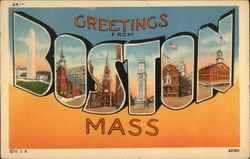 Greetings From Boston, Mass