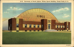 University of North Dakota, Winter Sports Building