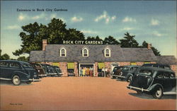 Rock City Gardens - Entrance