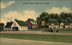 Hawkins Service Station and Cottages