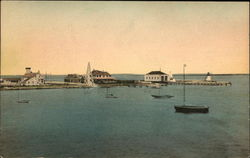 Brant Point on Nantucket Island