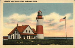 Sankaty Head Light House Postcard