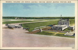 Terminal Buildings and Runway, Martha's Vineyard Airport
