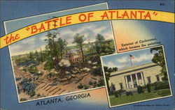 "The ""Battle of Atlanta"" Exterior of Cyclorama which houses the painting"