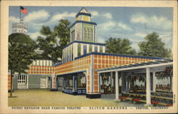 Picnic Pavilion Near Famous Theatre--Elitch Gardens