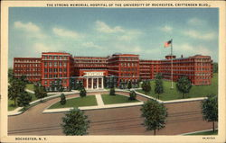 The Strong Memorial Hospital of the University of Rochester, Crittenden Blvd.