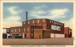 Refrigerating Plant For Cranberry Canners, Inc Postcard