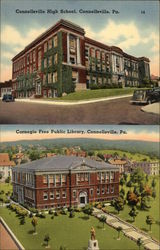 Connellsville High School and Public Library