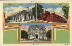 Post Office, State Armory and Court House