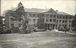 Front View - Main Building, OES Home and Infirmary