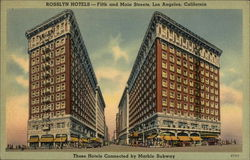 Rosslyn Hotels Postcard