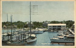 Nassau Yacht Haven Postcard