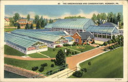 Greenhouses and Conservatory