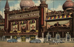 Front View The World's Only Corn Palace