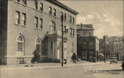 Main Street, showing YMCA