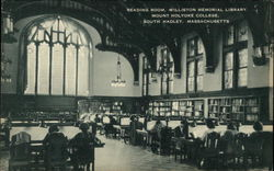 Reading Room, Williston Memorial Library, Mount Holyoke College