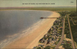 Air View of Shore