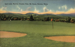 Golf Links, Norway Country Club, 9th Green