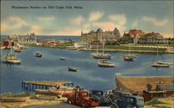 Wychmere Harbor on Old Cape Cod, Mass