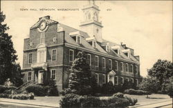 Town Hall in Weymouth, Massachusetts