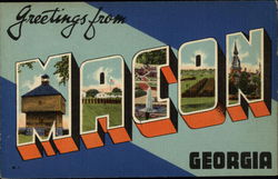 Greetings from Macon, Georgia