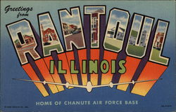 Greetings from Rantoul, Illinois