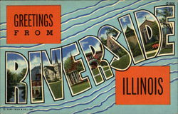 Greetings from Riverside, Illinois
