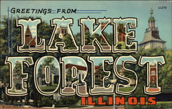 Greetings from Lake Forest, Illinois
