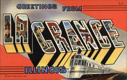 Greetings from La Grange Postcard