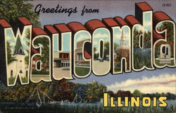 Greetings from Wauconda, Illinois