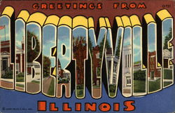Greetings from Libertyville, Illinois - Selected Views
