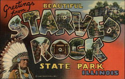 Greetings from Starved Rock State Park