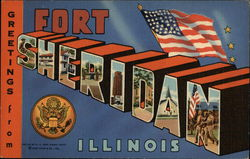 Greetings from Fort Sheridan, Illinois