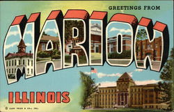 Greetings From Marion Illinois