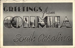Greetings from Columbia, South Carolina