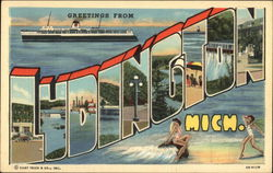 Greetings from Ludington, Michigan