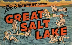 This is the Way We Swim in Great Salt Lake