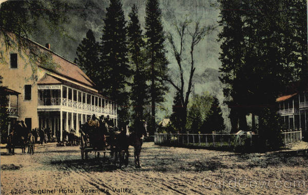 Sentinel Hotel Yosemite Valley California Yosemite National Park