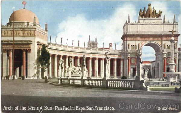 Arch Of The Raising Sun Pan San Francisco California