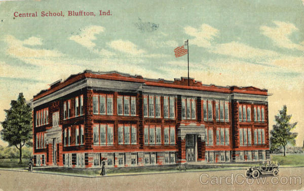 Central School Bluffton Indiana