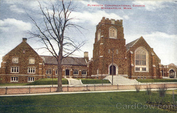 Plymouth Congregational Church Minneapolis Minnesota
