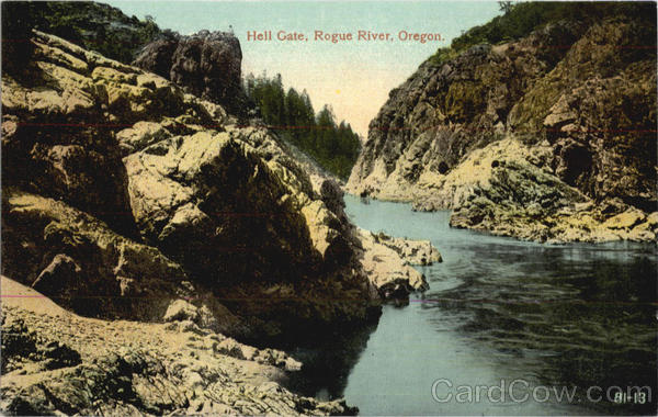 Hell Gate, Rogue River Scenic Oregon