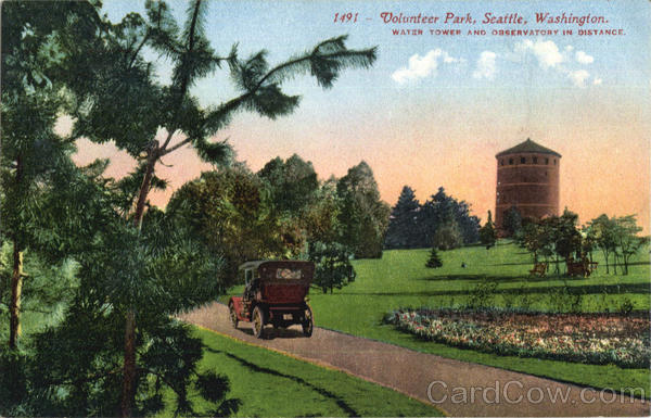 Volunteer Park Seattle Washington