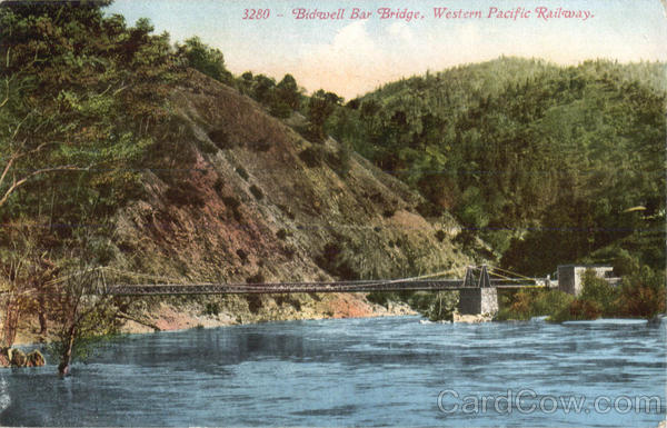 Bidwell Bar Bridge Railroad (Scenic)