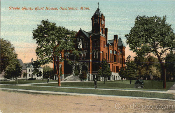 Steele County Court House Owatonna Minnesota