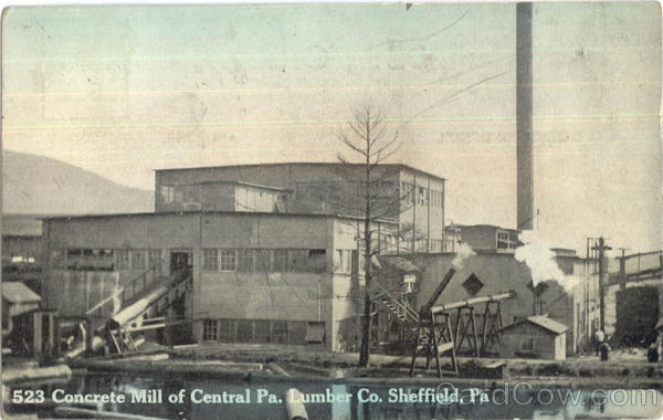Concrete Mill Of Central Pa Sheffield Pennsylvania